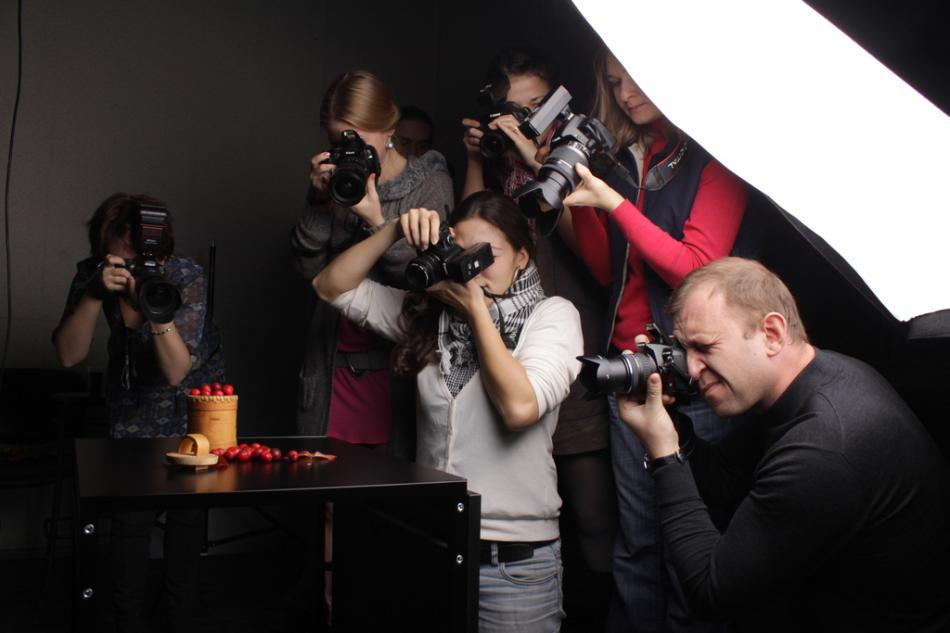 процесс практического обучения фотографии